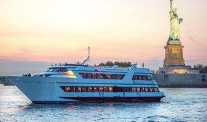 Used Custom Dinner YachtDinner Yacht Commercial Boat For Sale