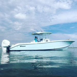 Used Triton 351 CC351 CC Center Console Fishing Boat For Sale