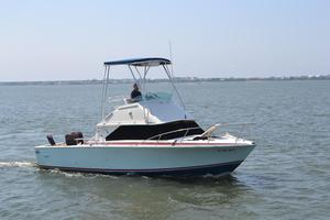 Used Bertram 28 Flybridge Cruiser Flybridge Boat For Sale