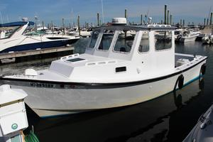 Used Seaworthy 25 Downeast Fishing Boat For Sale