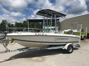 Used Seaswirl Striper 17301730 Center Console Fishing Boat For Sale