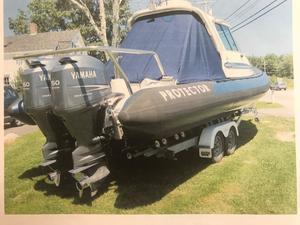 Used Protector Targa 28 Cuddy Cabin Boat For Sale