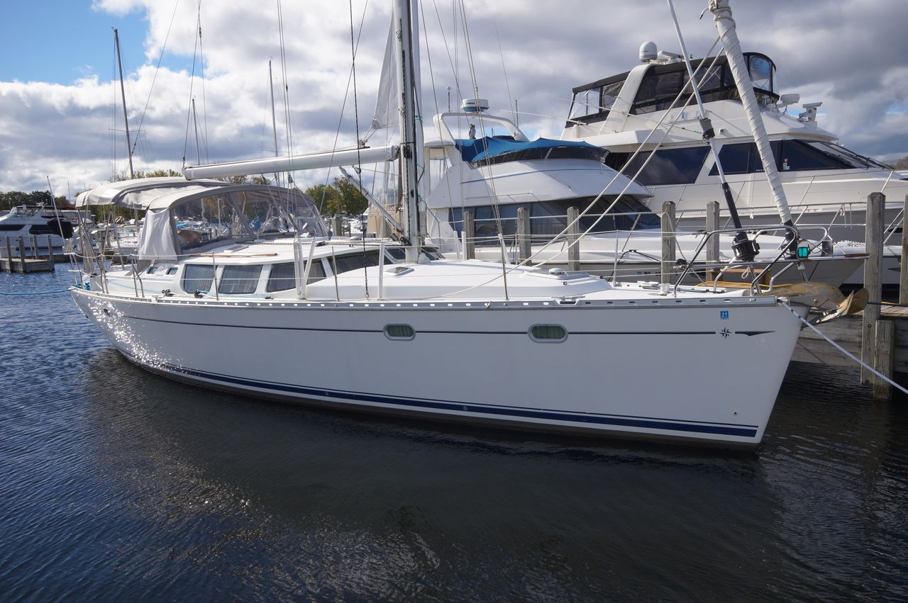 2002 Used Jeanneau Sun Odyssey 43 DS Cruiser Sailboat For