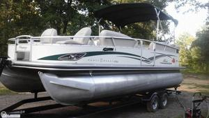 Used Sun Tracker 22 Party Barge Regency Sport Fish Pontoon Boat For Sale