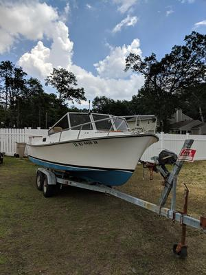 Used Shamrock Cuddy Cabin Boat For Sale