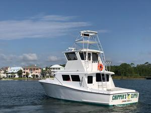 Used Custom Harkers Island Enclosed Bridge Commercial Boat For Sale