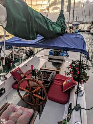 Used Hawaiian Custom Build - Brewer Design 39 Sloop Sailboat For Sale