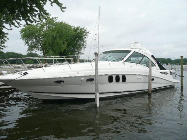 2007 Used Sea Ray 48 Sundancer Express Cruiser Boat For Sale