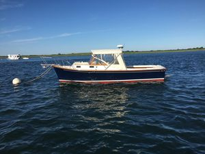 Used Fortier Softtop Cruiser Downeast Fishing Boat For Sale