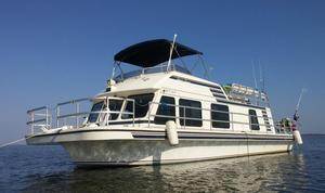 Used Gibson 41 Super Sport House Boat For Sale
