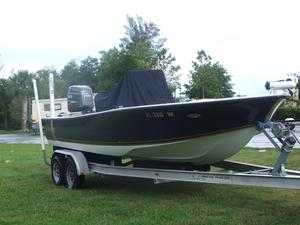Used Action Craft 21' Coastline Tournament Edition Saltwater Fishing Boat For Sale
