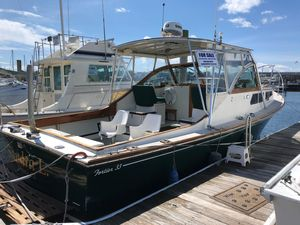 Used Fortier 33 Downeast Fishing Boat For Sale