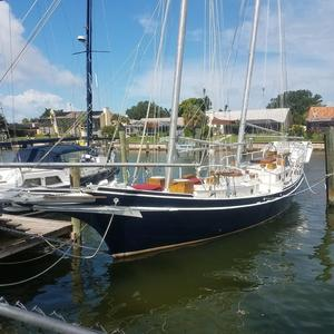 Used Kasten Marine Designed 44 Redpath Schooner Sailboat For Sale