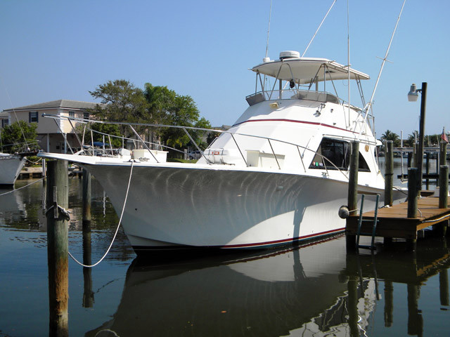 1988 used jersey sports fishing boat for sale 79 500 for Fishing jerseys for sale
