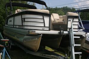 Used Aqua Patio 259 CBD Pontoon Boat For Sale