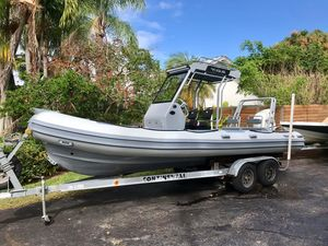 Used Highfield Rogue Rib Yacht Tender Rigid Center Console Fishing Boat For Sale