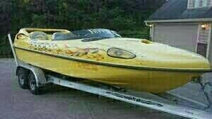 Used Sonic Ferrari H2O High Performance Boat For Sale