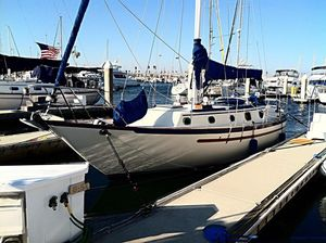 Used Pacific Seacraft 34 Cutter Sailboat For Sale
