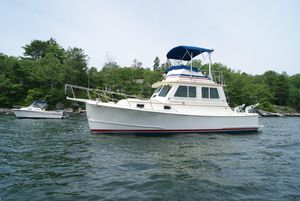 Used Blue Seas 31 Pilothouse Boat For Sale