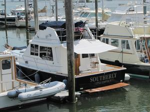 Used Cape Dory 36 Flybridge Downeast Fishing Boat For Sale