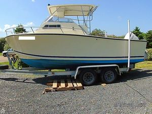 Used Kencraft Challenger 250 Cuddy Walkaround Fishing Boat For Sale