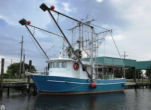 Used Custom Built Aluminum 40 x 16 Shrimp Boat Commercial Boat For Sale