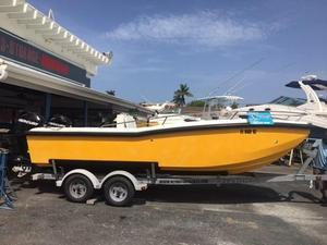 Used M2 Motoryachts 21 Center Console Fishing Boat For Sale