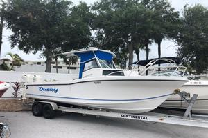 Used Dusky 278 Sports Fishing Boat For Sale