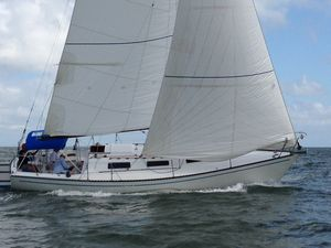Used Nightwind 35 Racer and Cruiser Sailboat For Sale