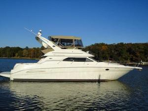 Used Sea Ray 45 Express Bridge Flybridge Boat For Sale