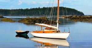 Used Crosby Wianno Senior Daysailer Sailboat For Sale