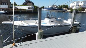 Used Boston Whaler 26 Outrage W Trailer Center Console Fishing Boat For Sale