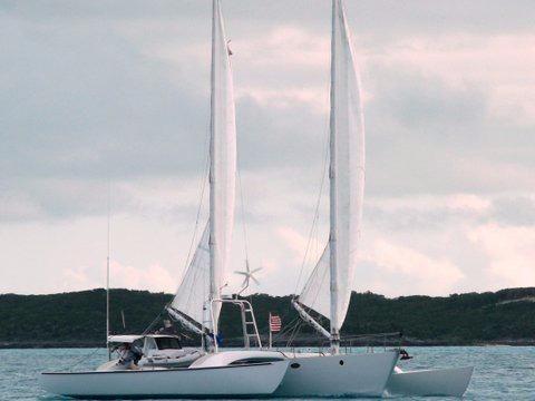 Used Custom Chris White Juniper 2 Trimaran Sailboat For Sale