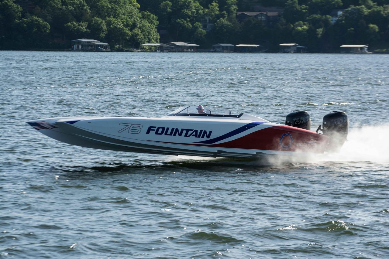 Big Bee Boats >> 2018 New Fountain 32 Thunder Cat High Performance Boat For ...