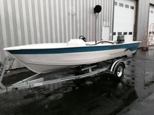 Used Crestliner Kodiak 16 Tender Boat For Sale