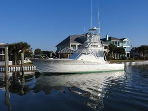 Used Davis 44 Express Fisherman Sports Fishing Boat For Sale