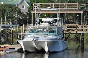 Used Benchmark Power Catamaran Boat For Sale