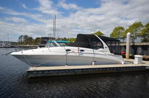 Used Sea Ray 320 DA With 2011 Blocks Express Cruiser Boat For Sale