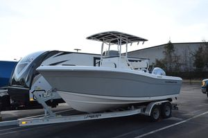 Used Clearwater 2200cc Center Console Fishing Boat For Sale