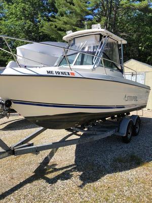 Used Seaswirl 2150 Cuddy Cabin Boat For Sale