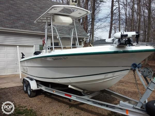 1997 used angler 204 center console center console fishing for Angler fishing boat