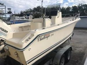 Used Kencraft Challenger 206 Center Console Fishing Boat For Sale