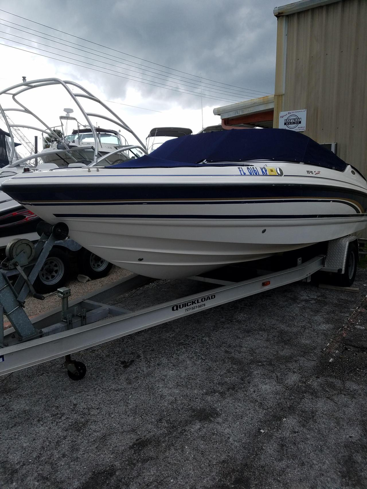 1999 Used Chaparral 1930 Sport Bowrider Boat For Sale - $7,995