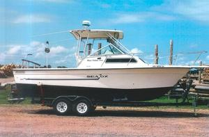 Used Sea Ox 260 Freshwater Fishing Boat For Sale