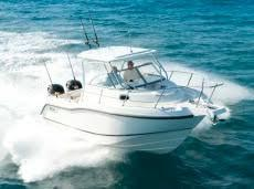 Used Boston Whaler 255 Conquest Sports Fishing Boat For Sale