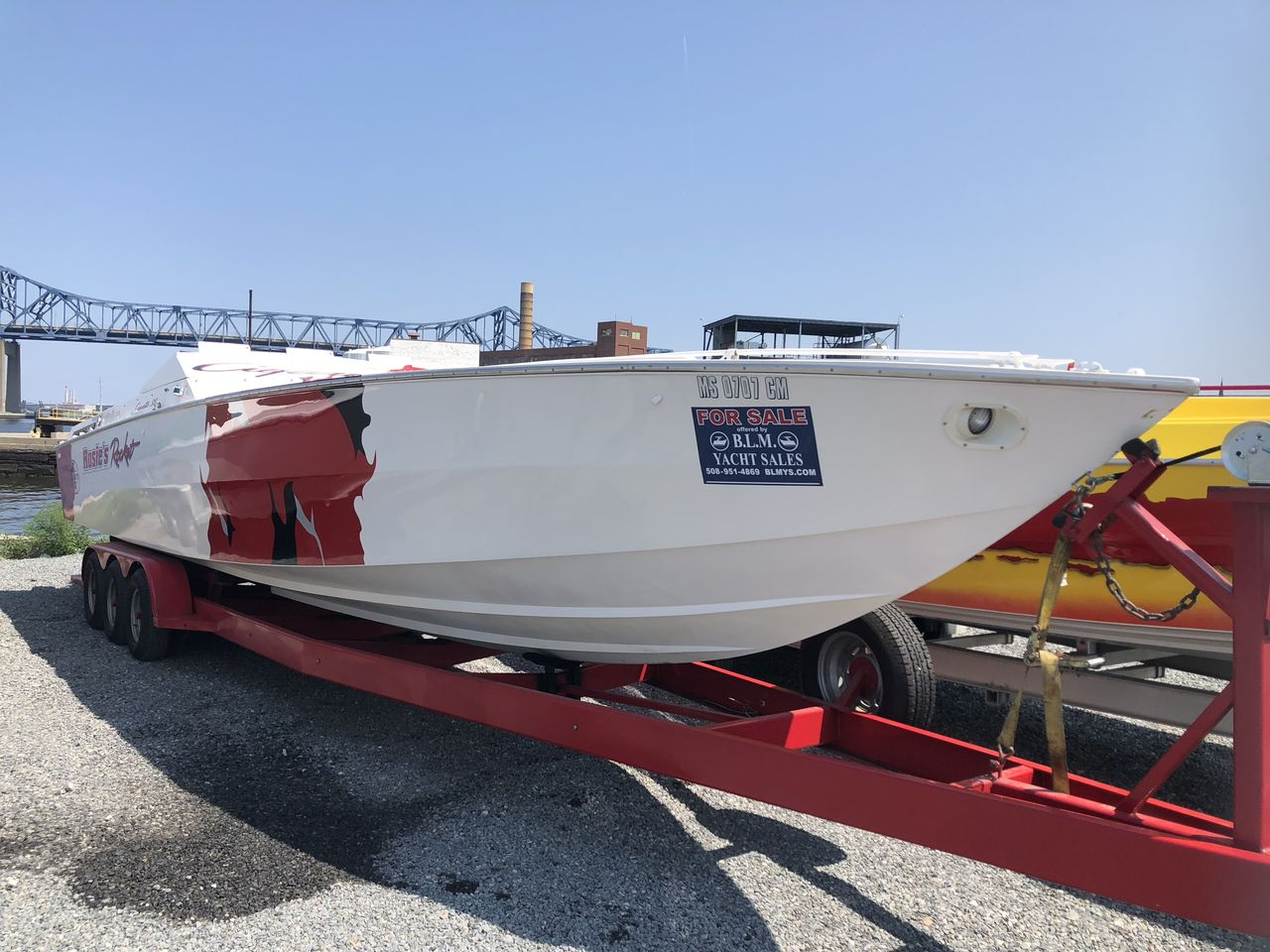 1984 Used Cigarette Top Gun High Performance Boat For Sale