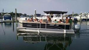 Used Harris 24 Pontoon Boat For Sale