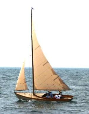 Used Herreshoff Fish Class Daysailer Sailboat For Sale