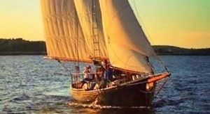 Used Schooner Lazy Jack Commercial Boat For Sale