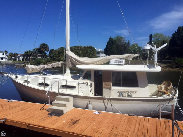 Used Schucker 436 Pilothouse Antique and Classic Sailboat For Sale